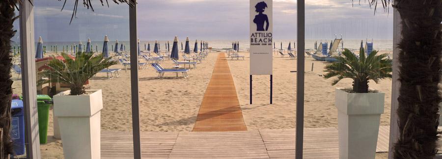 Bagno attilio attilio beach pleasure club 253 milano - Bagno zefiro milano marittima ...